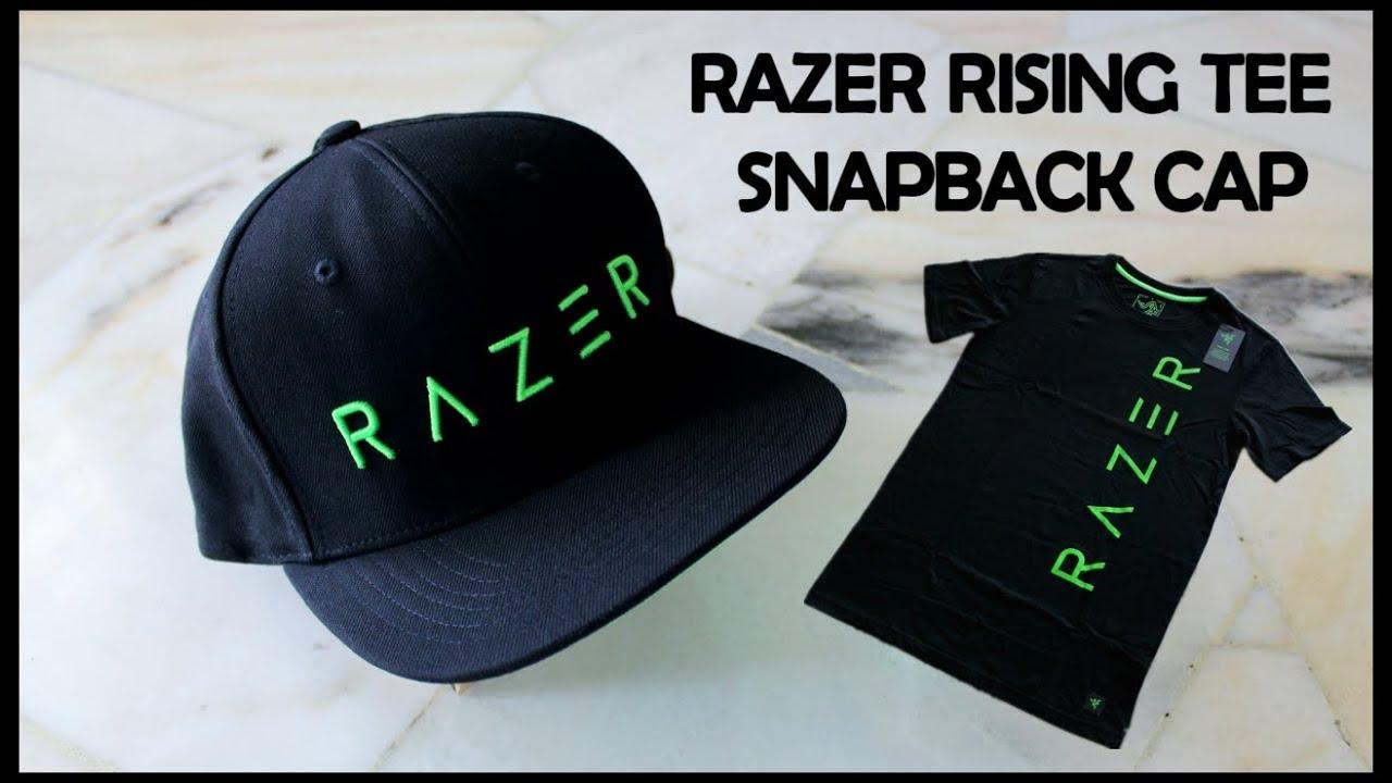 OVERVIEW - RAZER RISING TEE   SNAPBACK CAP - YouTube 5689a13c884