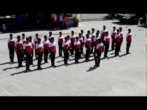Kawad Kaki BSMM Lelaki SMKAJ Peringkat Sekolah (Pagi)