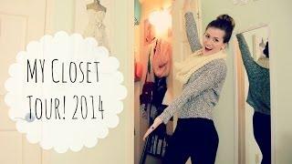 Michelle's Closet Tour 2014! Thumbnail