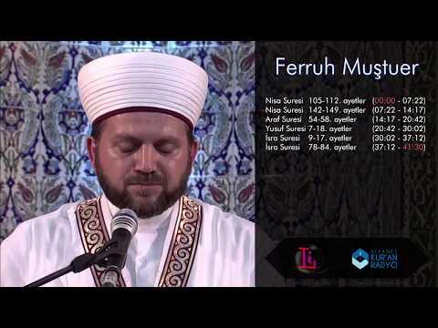 Ferruh Muştuer (Dünya Birincisi Türk Hafız)