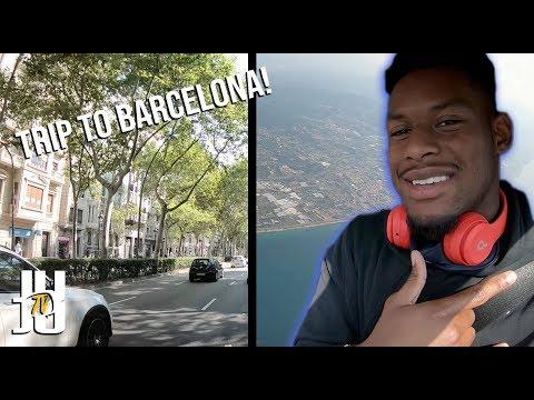 NFL Vacation: JuJu's Trip To Barcelona!