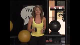 burn body fat 1 mile leslie sansones walk at home