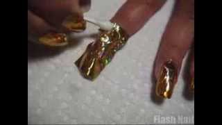 Flash Nail - Golden Ice - www.flashnail.com