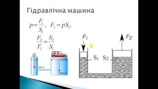 Урок 4.2 Гідростатичний тиск.  Сполучні посудини.