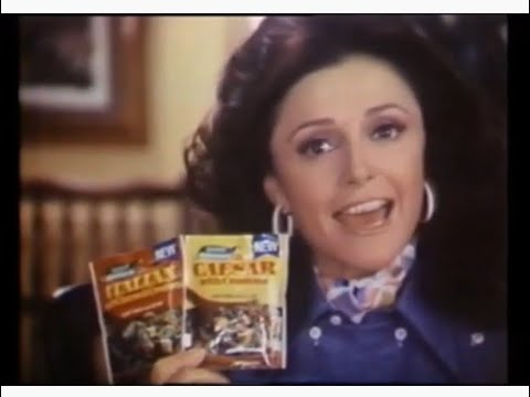 Good Seasons Salad Dressing Commercial (1975)