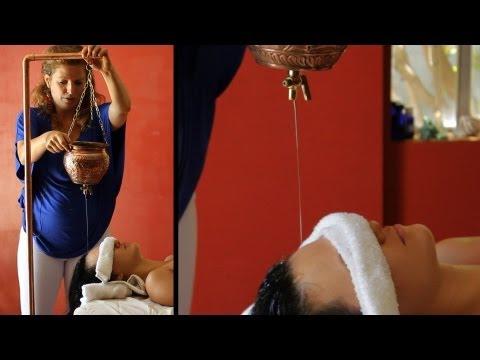 What Is a Shirodhara Massage?   Ayurvedic Massage