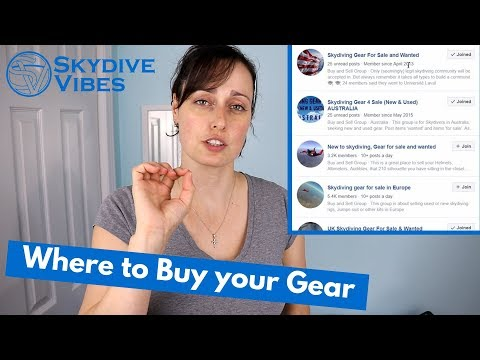 Where To Buy Used Skydiving Gear