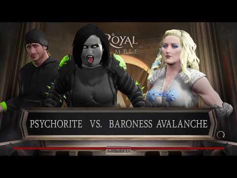 Psychorite with Kabushiki vs. baroness avalanche