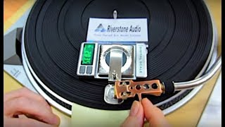 Riverstone Audio Record-Level Turntable Vertical Tracking Force Gauge- Setup and Product Features