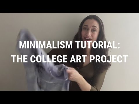 Minimalism Tutorial 34: The College Art Project thumbnail
