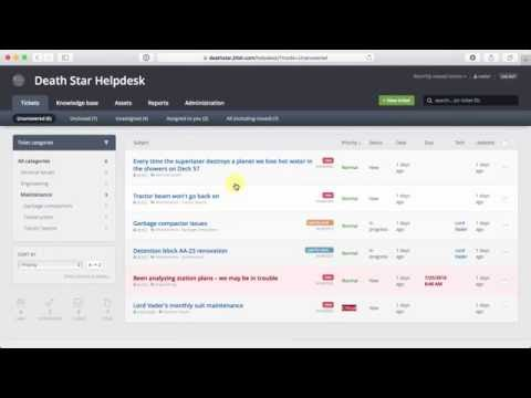 Jitbit Helpdesk Ticketing System Walkthrough