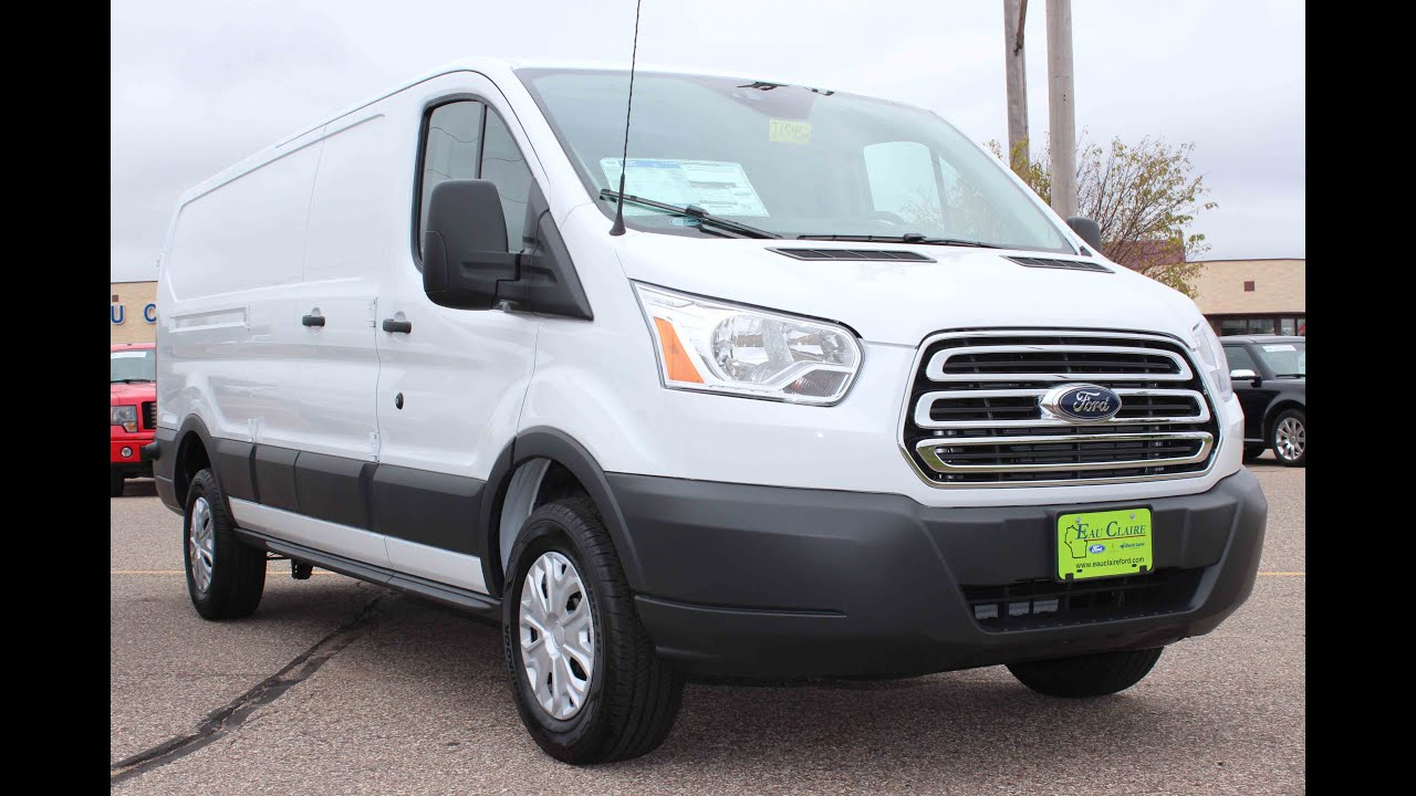 115a21a795 2016 Ford Transit-250 3 Door Low Roof Cargo Van - YouTube