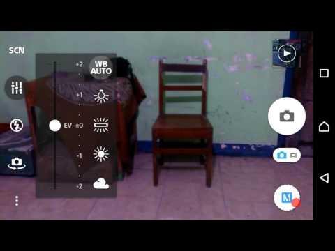 Kamera Sony Xperia ZR