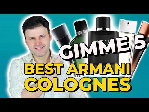 BEST Armani Fragrances For Men - Gimme5| MAX FORTI