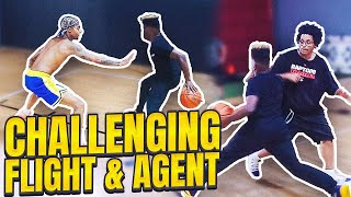 King of the Court vs Flight Reacts and Agent 00.. (intense)