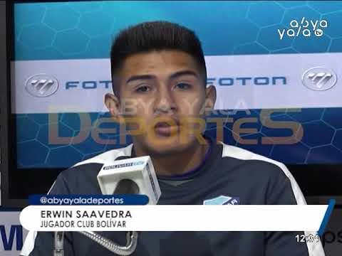 CLUB BOLÍVAR: SE PIENSA SOLAMENTE EN LA LEVANTADA ANTE BLOOMING