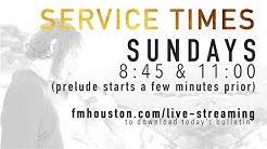 December 17th, 2017, 11:00 AM Service - First Methodist Houston Live Stream