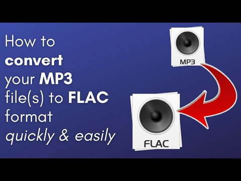 How to Convert MP3 to FLAC (PC & Mac users only)