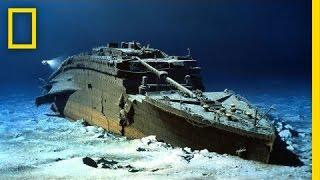 Robert Ballard: Painting the Titanic   Nat Geo Live