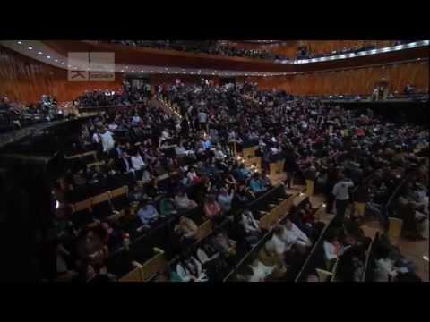 Brillante concierto de Martha Argerich en el CCK