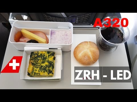 FLIGHT REPORT | SWISS AIRBUS A320 (economy) | ZURICH - ST PETERSBURG