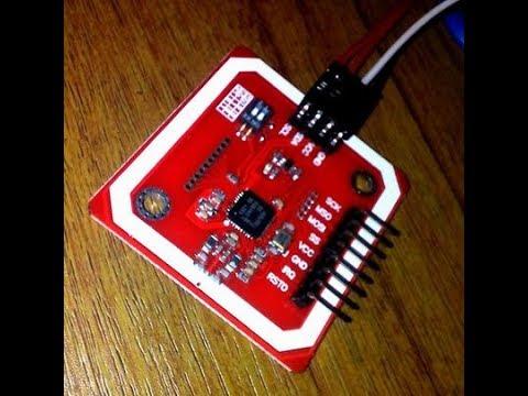 DEMO PN532 RFID NFC Reader ARDUINO
