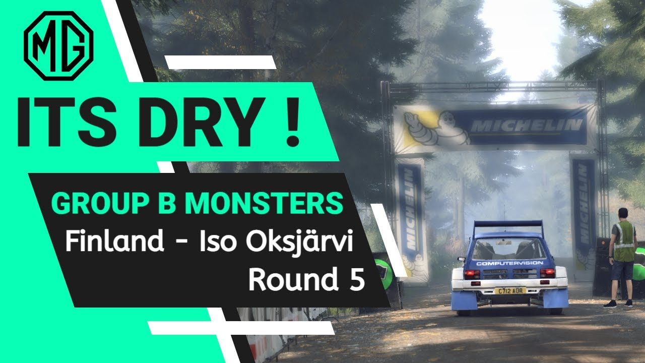 Dirt Rally 2.0 Group B Metro 6R4 Finland