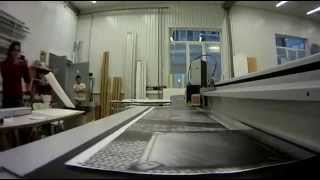 Изготовление мебели из сотового картоне Re-boаrd(Широкоформатная печать на самоклеющейся пленке (Mimaki CJV30), ламинация (GMP Excеlam-Q 1670 RS), раскрой (Zund G3 XL-3200) и сборк..., 2014-01-18T14:58:31.000Z)