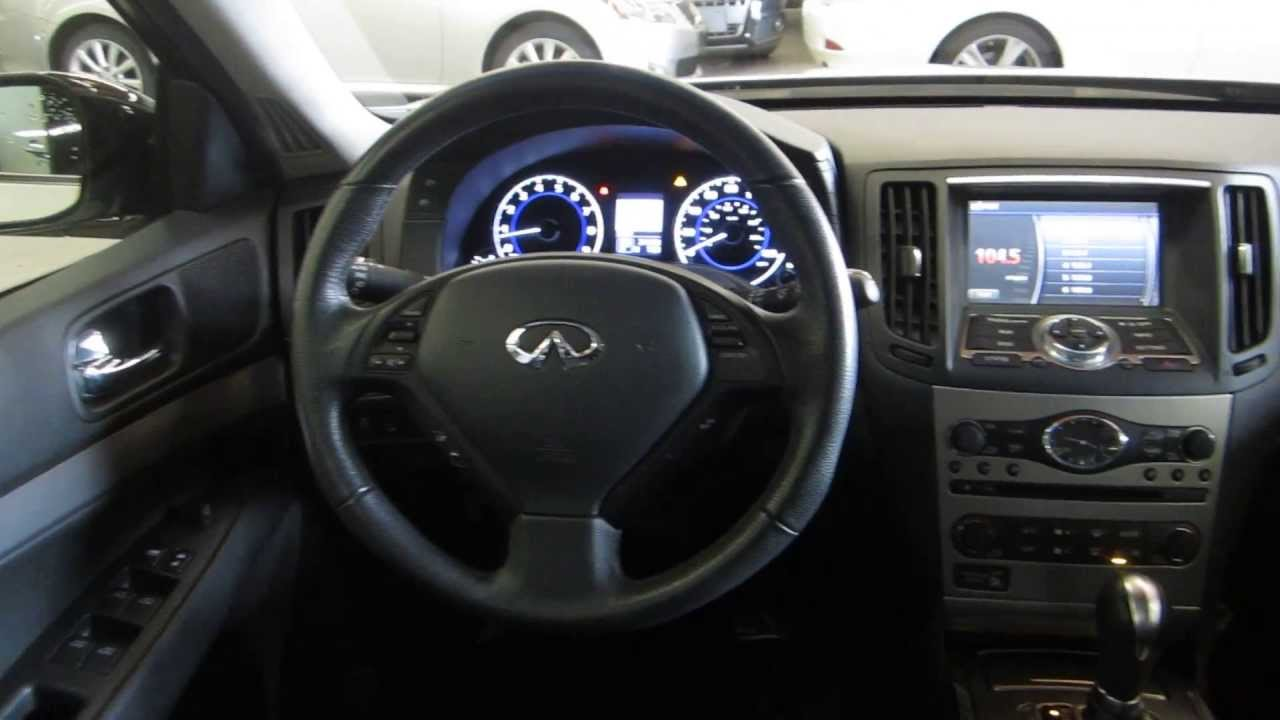2013 Infiniti G37 Journey >> 2011 Infiniti G37, White - STOCK# 403448 - Interior - YouTube