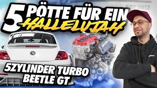 JP Performance - 5 Pötte für ein Hallelujah! | 5 Zylinder Turbo im Beetle GT