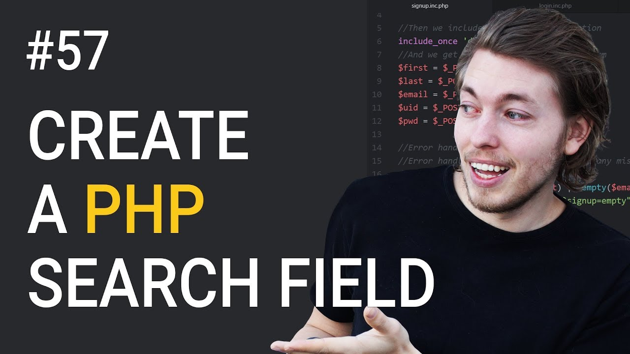 how to create ordered search php