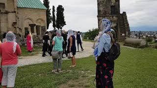 Грузинская свадьба в Кутаиси. Грузия. Храм Бограта.