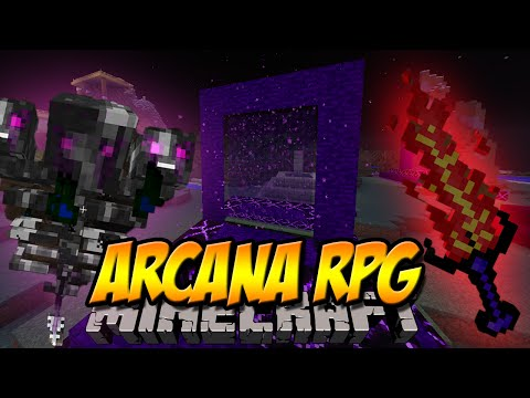4 NEUE DIMENSIONEN | Arcana RPG Mod | Minecraft Mod Review [DEUTSCH]