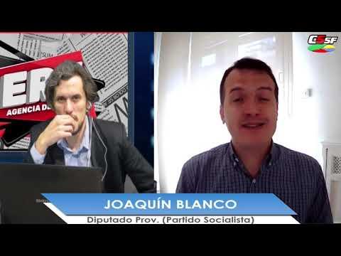 Joaquín Blanco: La ministra Frederic tiene que estar en Rosario