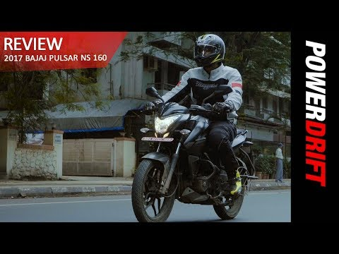2017 Bajaj Pulsar NS 160 : The Good And The Bad : PowerDrift