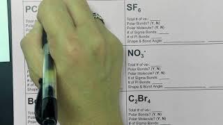 Unit 10 Covalent Bonding Page 2