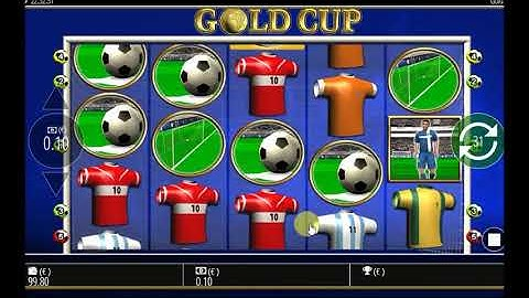 Online Casino Test des Slots Gold Cup im 888-Casino