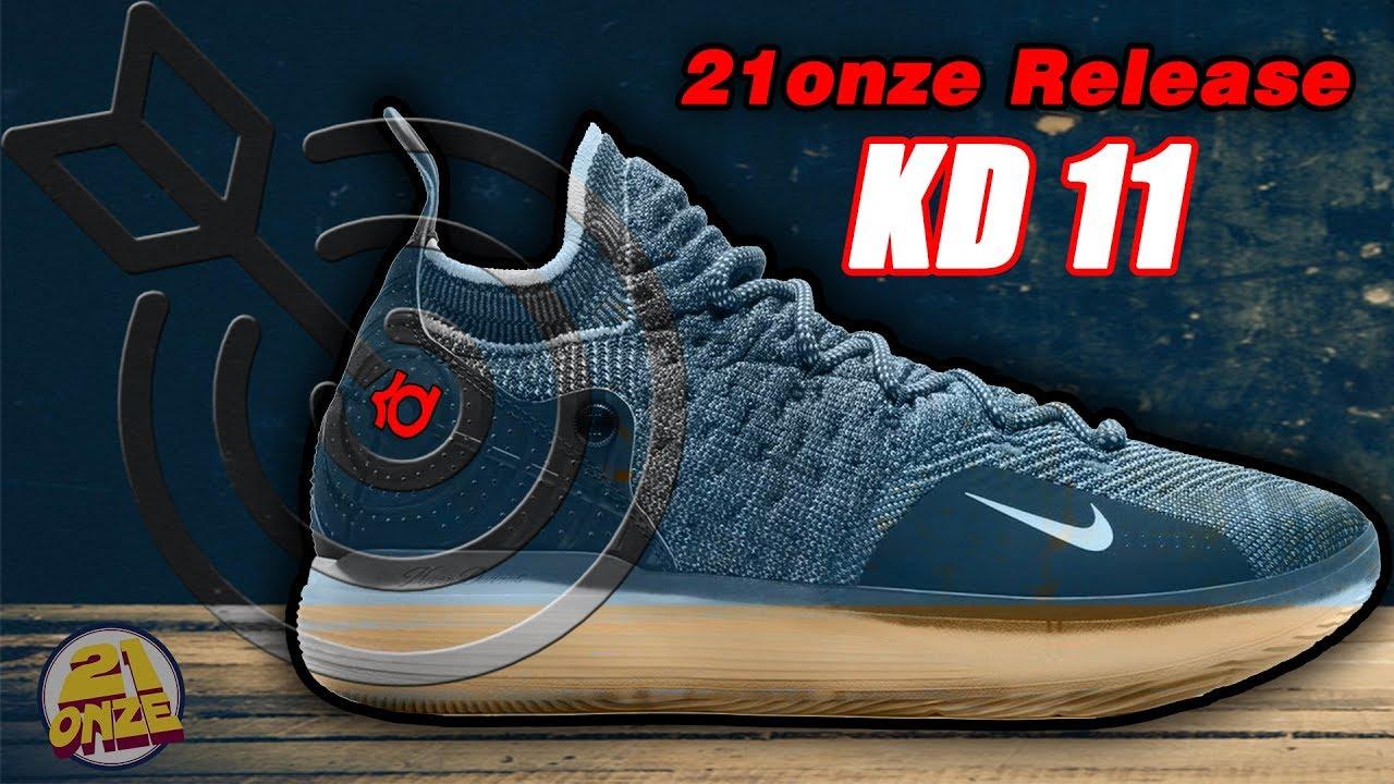 70aa093cb03a Release Nike KD 11 Canal 21onze YouTube