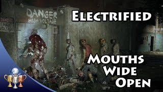 The Dying - Electrified & Mouths Wide Open (Killing a Volatile and 25 Zombies with Electric Fence)