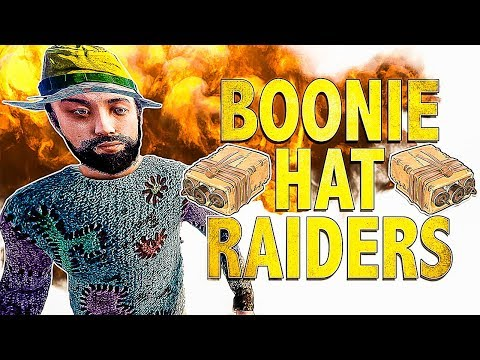 Counter Raiding the Boonie Hat Raiders | Rust