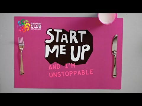 Breakfast Club of Canada Start Me Up Campaign