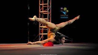 Florida Pole Fitness Championship 2014 - Anna Elise Bowman Pro Winner