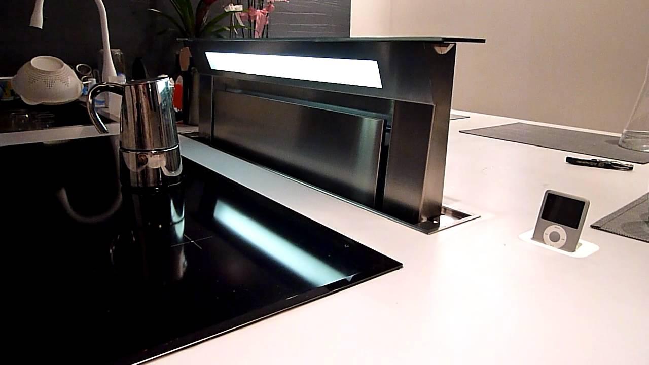 Cappa a incasso. La cucina del futuro ... - YouTube
