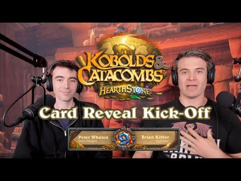 Kobolds & Catacombs Card Reveal Kick-Off