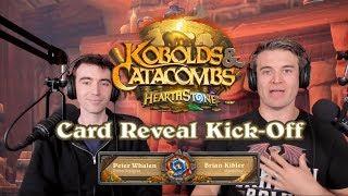 Kobolds & Catacombs Card Reveal Kick-Off