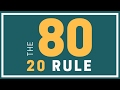 Language Learning - 80/20 Rule