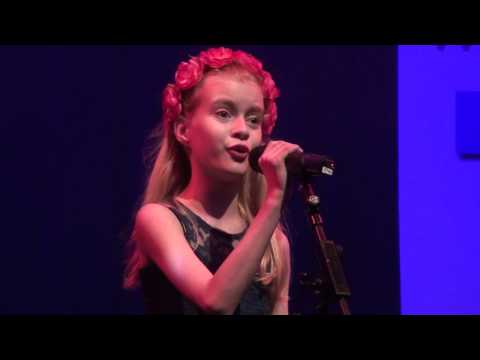 WRECKING BALL  MILEY CYRUS Performed by Georgia Rose Brennan at TeenStar Singing Competition