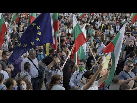 فيديو: متظاهرون بلغاريون يحاولون اقتحام مبنى البرلمان  - نشر قبل 2 ساعة