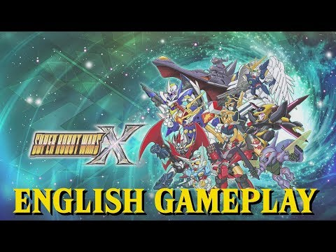 Super Robot Wars X - First Hour English Gameplay. No Commentary