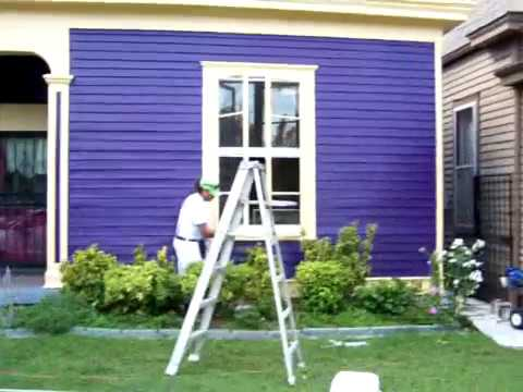 Painting a Home in the Cherokee Triangle
